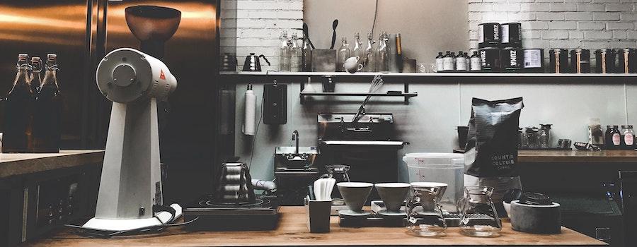 Olika kaffemaskiner